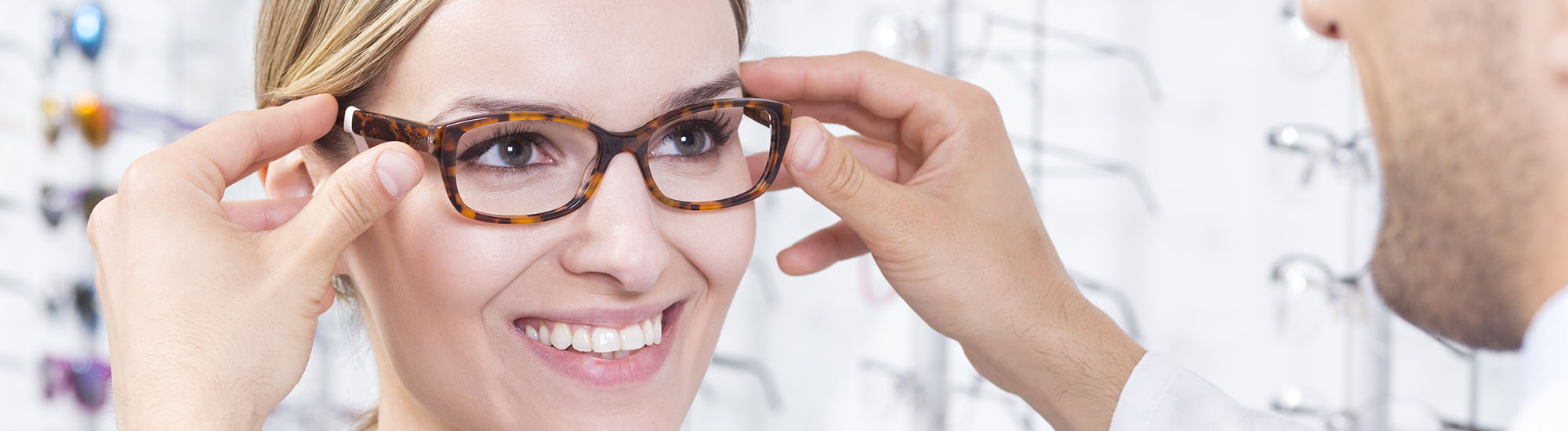 Purchase new frames from Vestavia Eye Center