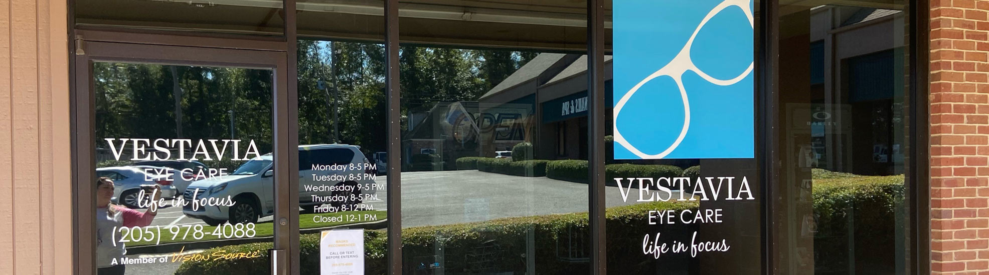 Meet the Vestavia Eye Care Doctors and Staff
